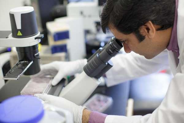 student in Maurelli lab